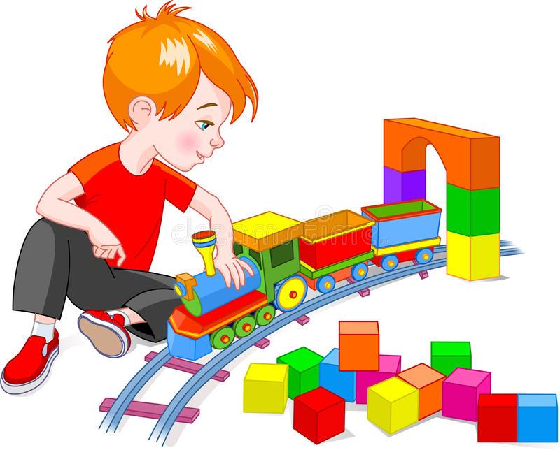 boy-train-set-10785585